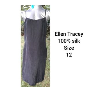 100% silk  slip gown or dress not sure